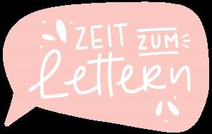 Zeit zum Lettern, Handlettering, Evelyn Unterfrauner